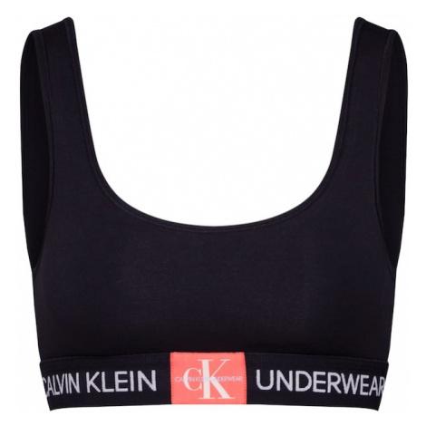 Calvin Klein Underwear Biustonosz łososiowy / czarny / biały