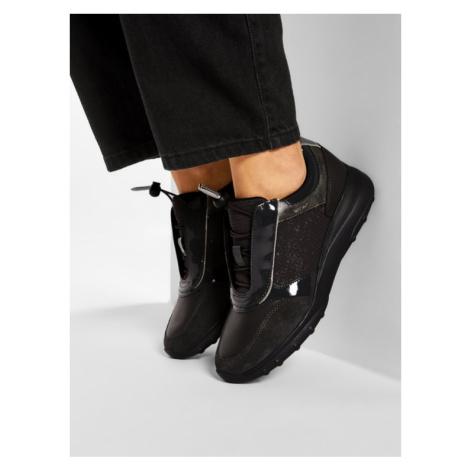 Geox Sneakersy D Alleniee C D04LPC 0EW22 C9004 Szary