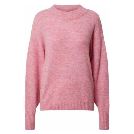 ICHI Sweter 'Amara' różowy pudrowy