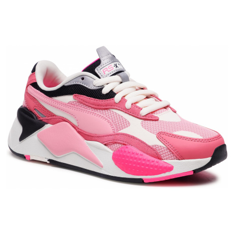 Sneakersy PUMA - Rs-X³ Puzzle 371570 06 Rapture Rose/Peony/Whi White
