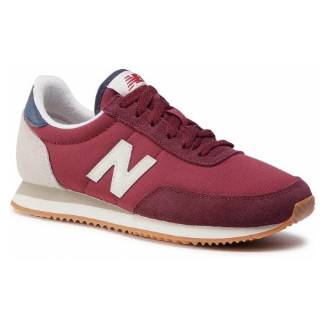 Sneakersy NEW BALANCE - WL720WC Bordowy