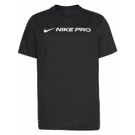 NIKE Koszulka funkcyjna 'DRY TEE NIKE PRO' czarny