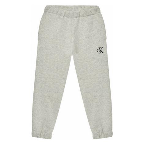 Calvin Klein Jeans Spodnie dresowe IG0IG00778 Szary Relaxed Fit