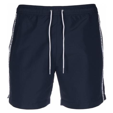 Calvin Klein Swimwear Kąpielówki gołąbkowo niebieski / biały