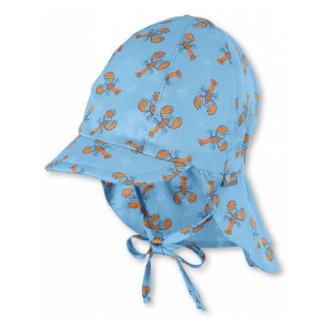 STERNTALER Kapelusz jasnoniebieski / ciemnopomarańczowy / niebieski