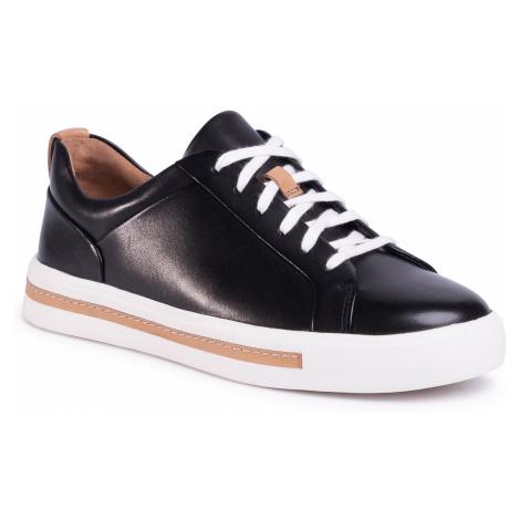 Sneakersy CLARKS - Un Maui Lace 261416424 Black Leather