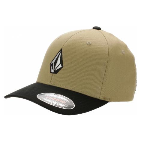 czapka z daszkiem Volcom Full Stone Flexfit - Khaki