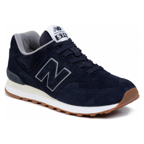 Sneakersy NEW BALANCE - ML574EMA Granatowy