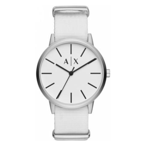 Armani Exchange Zegarek Cayde AX2713 Biały