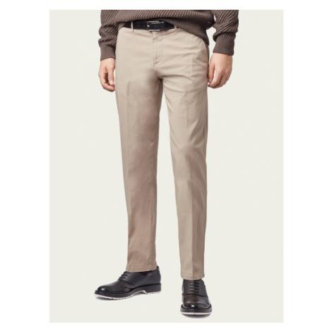 Boss Spodnie materiałowe Crigan3-D 50325944 Beżowy Regular Fit Hugo Boss