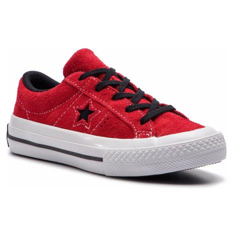 Tenisówki CONVERSE - One Star Ox 363691C Enamel Red/Black/White