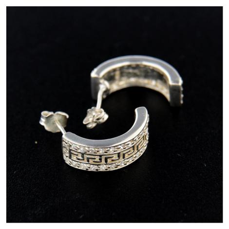 Kolczyki srebrne 14736