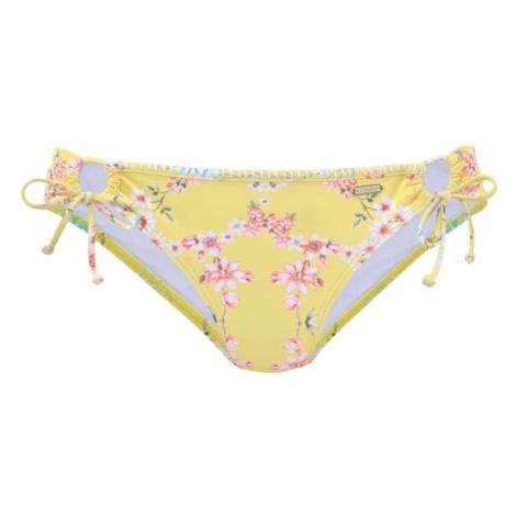 SUNSEEKER Dół bikini 'Ditsy' żółty / mieszane kolory