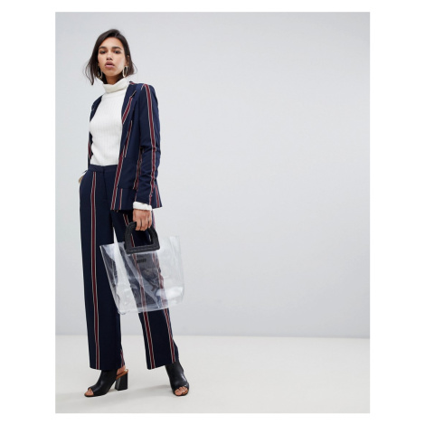 Y.A.S striped trouser co-ord