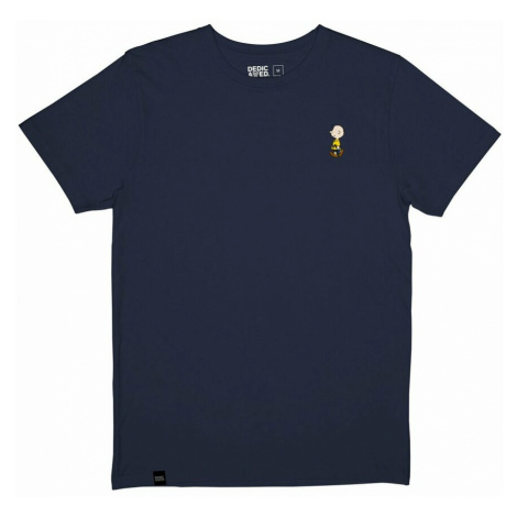 Dedicated, Camiseta Stockholm Charlie Brown Niebieski, male, rozmiary: