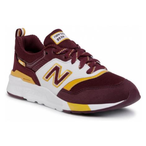 New Balance Sneakersy GR997HVU Bordowy