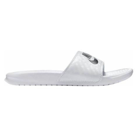 Nike Benassi JDI Damskie Białe (343881-102)