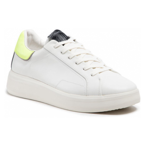 Crime London Sneakersy Low Top Level Up 11200PP3.10 Biały