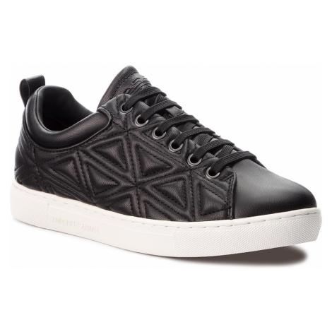 Sneakersy EMPORIO ARMANI - X3X069 XF303 00002 Black