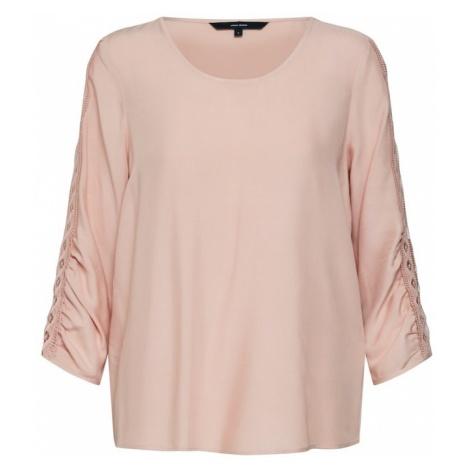 VERO MODA Koszulka różowy pudrowy