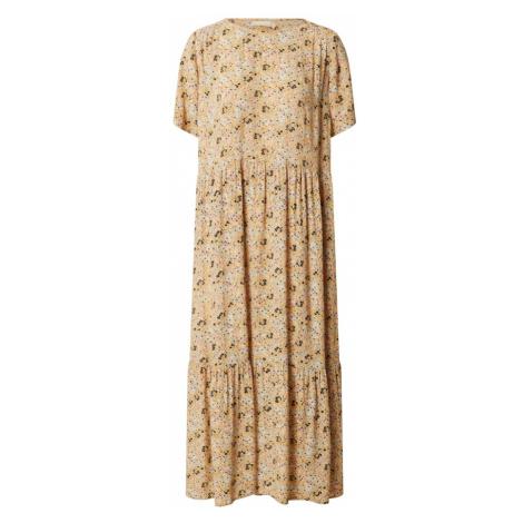 PIECES Sukienka 'WONDA' mieszane kolory / żółty