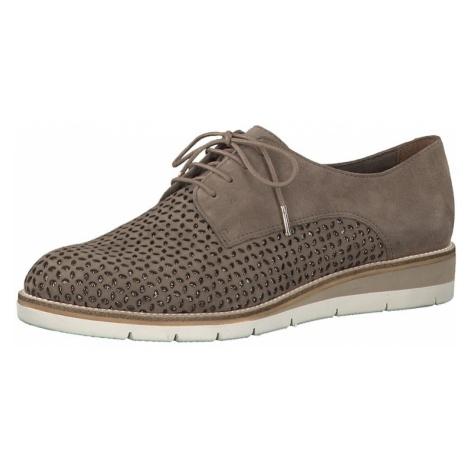 TAMARIS Buty sznurowane brązowy