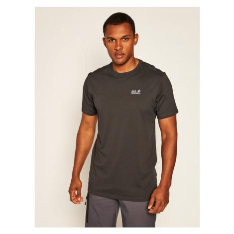 Jack Wolfskin T-Shirt Rebel T 1806852 Czarny Regular Fit