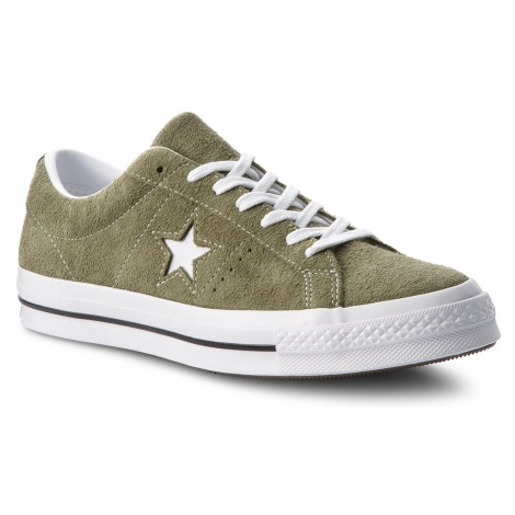 Tenisówki CONVERSE - One Star Ox 161576C Field Surplus/White/White