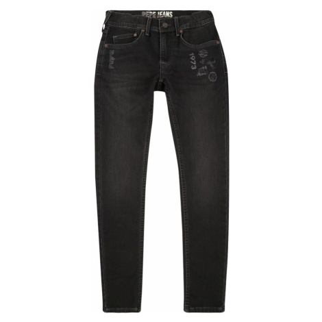 Pepe Jeans Jeansy 'FINLY TAG' czarny denim