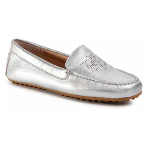 Mokasyny LAUREN RALPH LAUREN - Bartlett 802774701002 Bright Silver