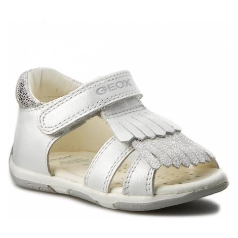 Sandały GEOX - B S.Tapuz G. B B720YB 044JS C0007 Biały/Srebrny