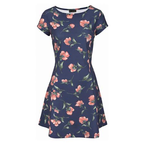LASCANA Letnia sukienka granatowy / różowy pudrowy