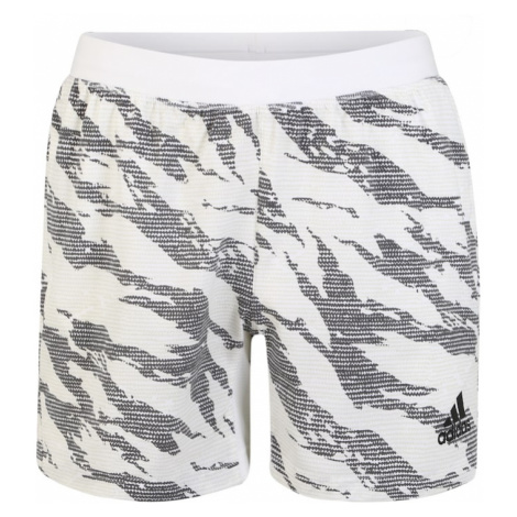 ADIDAS PERFORMANCE Spodnie sportowe 'Tky Camo' biały / szary