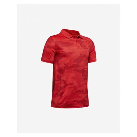 Under Armour Performance Polo Koszulka dziecięce Czerwony