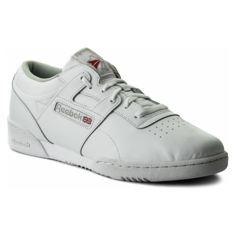 Buty Reebok - Workout Low CN0636 Int White/Grey