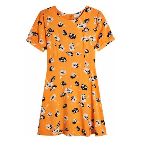 Miss Selfridge Sukienka 'PRINTED TEA DRESS' mieszane kolory / pomarańczowy