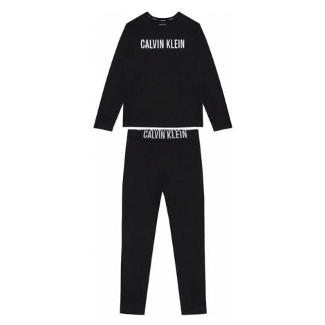 Calvin Klein Underwear Piżama Knit Set B70B700277 Czarny
