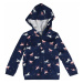 Carter's Bluzka sportowa 'Hoodie Statement F19 unicorn print hoodie' granatowy / biały
