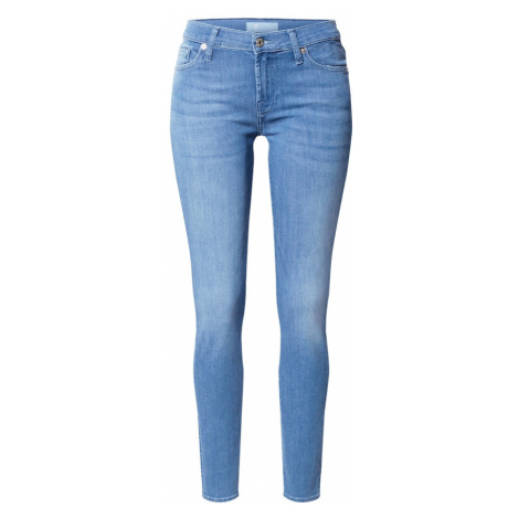 7 for all mankind Jeansy 'The Skinny Bair Bluebay' niebieski