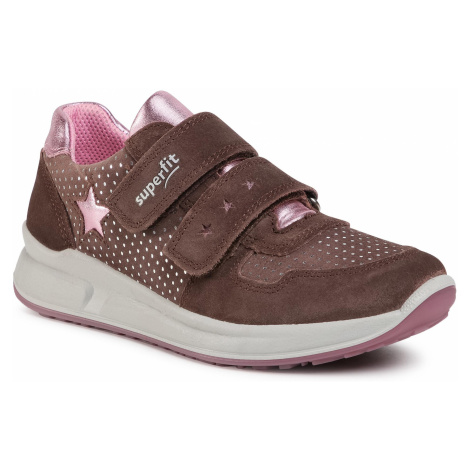 Sneakersy SUPERFIT - 1-000187-8500 S Lila/Rosa