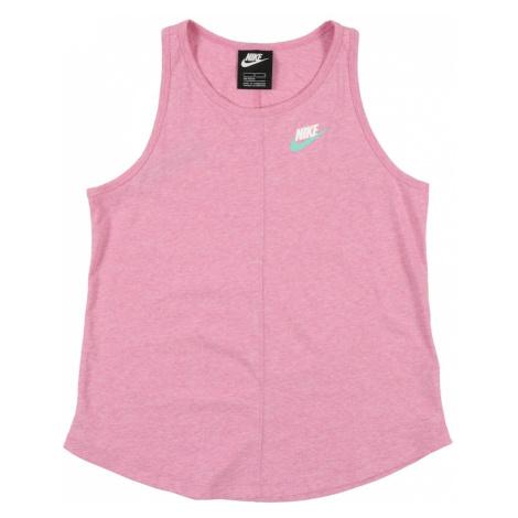 Nike Sportswear Koszulka nakrapiany róż