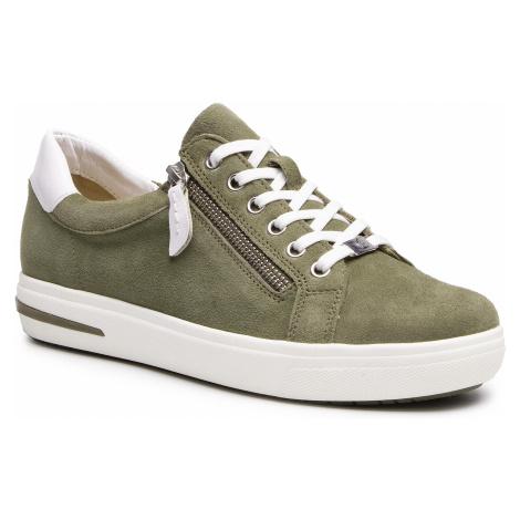 Sneakersy CAPRICE - 9-23753-26 Cactus Suede 759