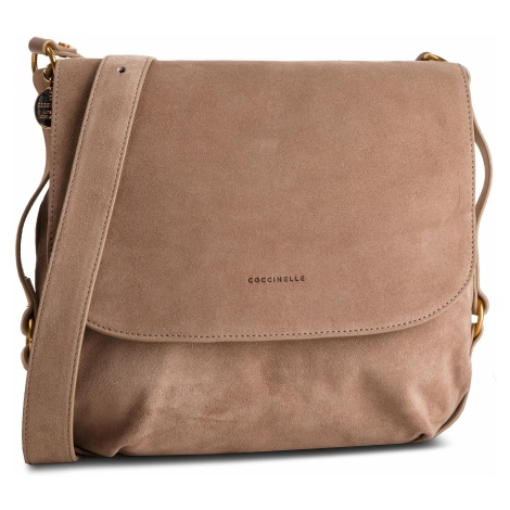 Torebka COCCINELLE - DS6 Alpha Suede E1 DS6 15 01 01 Taupe N75