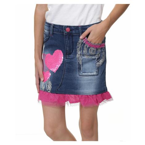 spódnica Desigual 67F31B3/Gargalla - 5006/Jeans