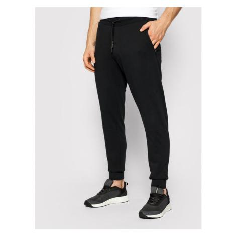 4F Spodnie dresowe H4L21-SPMD012 Czarny Regular Fit