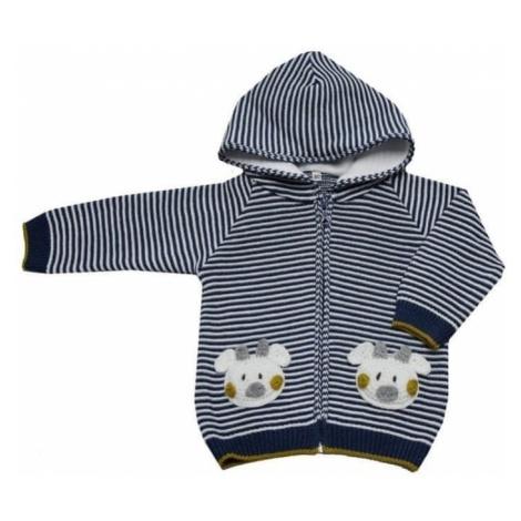 EKO chłopięcy sweter w pasy, 92, wielobarwny