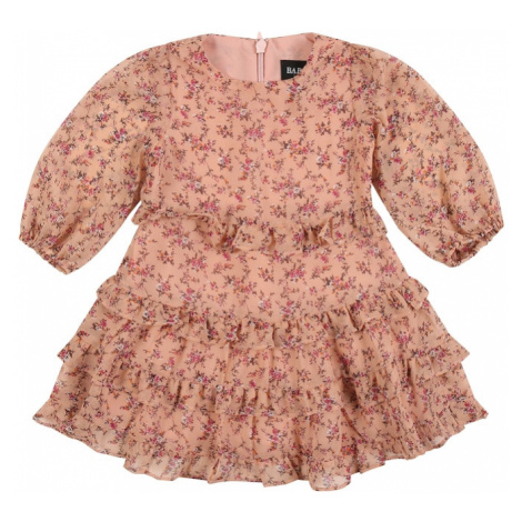 Bardot Junior Sukienka 'Esther' stary róż / brązowy / pitaja / biały / pomarańczowy