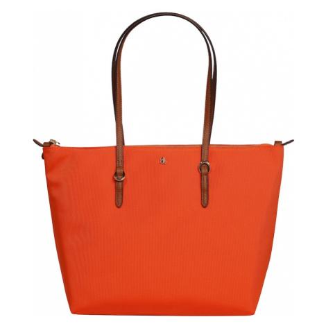 Lauren Ralph Lauren Torba shopper 'KEATON' pomarańczowy