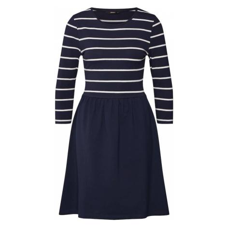 ONLY Sukienka 'Amber' niebieski / biały