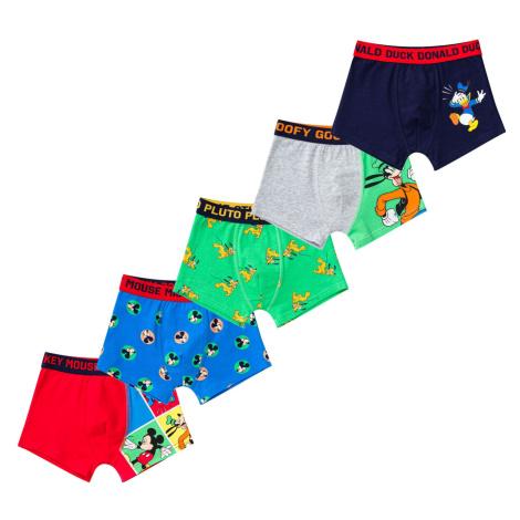 Boys boxer shorts Disney 5 Pack Character